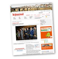 Lire l'article sur l'inauguration du Ciné'up par le Hameau du Vin